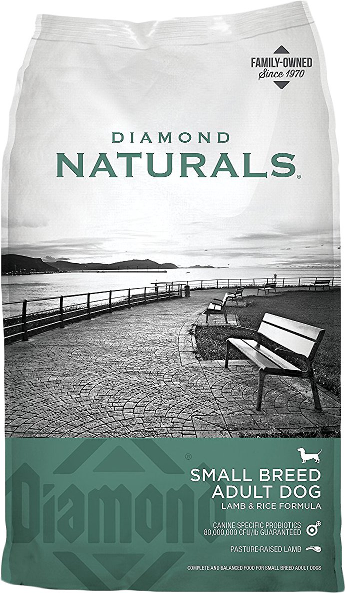 Diamond Naturals Small Breed Adult Lamb & Rice Formula Dry Dog Food Image