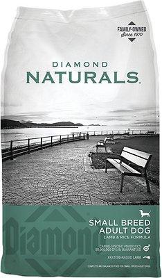 Diamond Naturals Small Breed Adult Lamb & Rice Formula Dry Dog Food, 18-lb bag