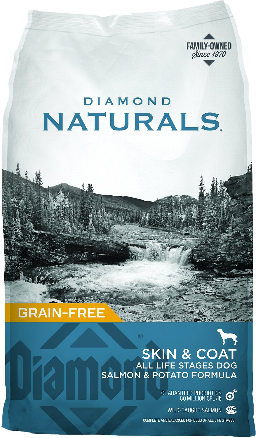 Diamond Naturals Skin & Coat Formula All Life Stages Grain-Free Dry Dog Food Image