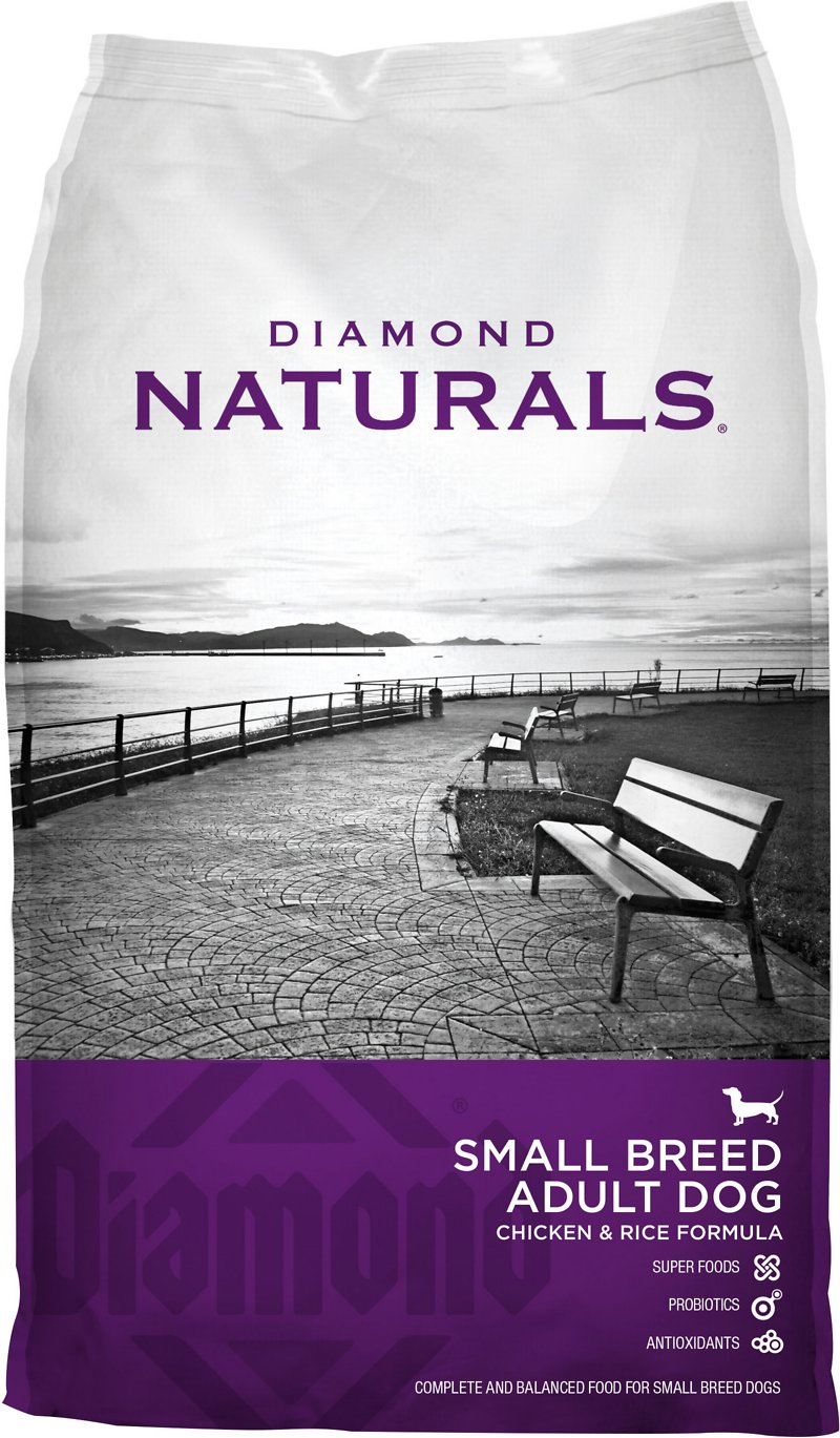Diamond Naturals Small Breed Adult Chicken & Rice Formula Dry Dog Food Image