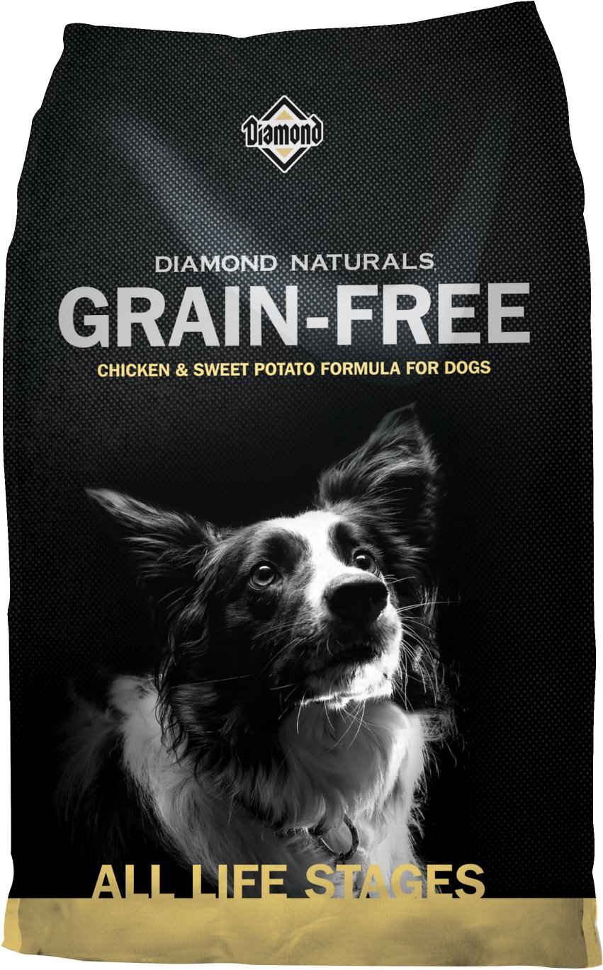 Diamond Naturals Grain-Free Chicken & Sweet Potato Formula Dry Dog Food Image