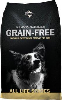 Diamond Naturals Grain-Free Chicken & Sweet Potato Formula Dry Dog Food, 28-lb bag