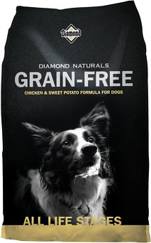 Diamond Naturals Grain-Free Chicken & Sweet Potato Formula Dry Dog Food, 5-lb bag