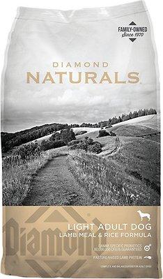 Diamond Naturals Light Formula Dry Dog Food, 15-lb bag