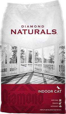 Diamond Naturals Indoor Formula Dry Cat Food, 18-lb bag