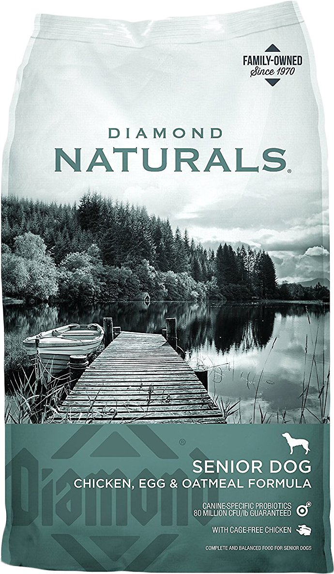 Diamond Naturals Senior Formula Dry Dog Food Image