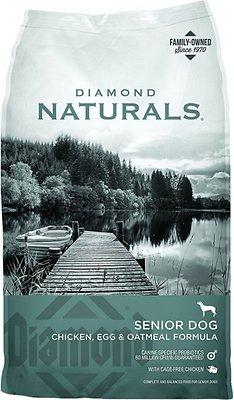 Diamond Naturals Senior Formula Dry Dog Food, 6-lb bag