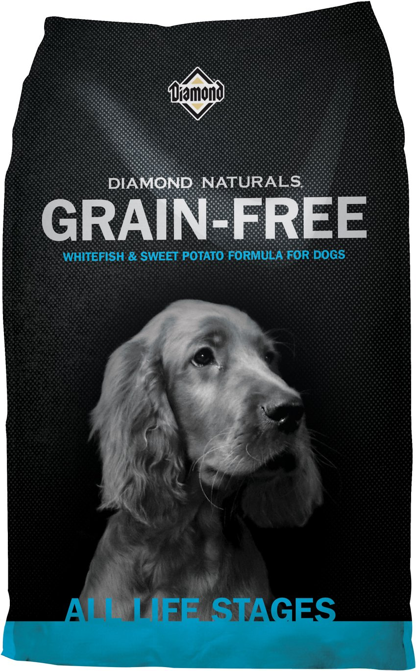 Diamond Naturals Grain-Free Whitefish & Sweet Potato Formula Dry Dog Food Image