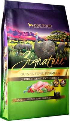 Zignature Guinea Fowl Limited Ingredient Formula Grain-Free Dry Dog Food, 12.5-lb bag