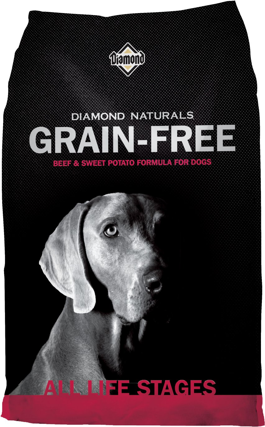 Diamond Naturals Grain-Free Beef & Sweet Potato Formula Dry Dog Food Image