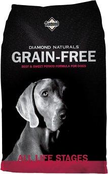 Diamond Naturals Grain-Free Beef & Sweet Potato Formula Dry Dog Food, 5-lb bag