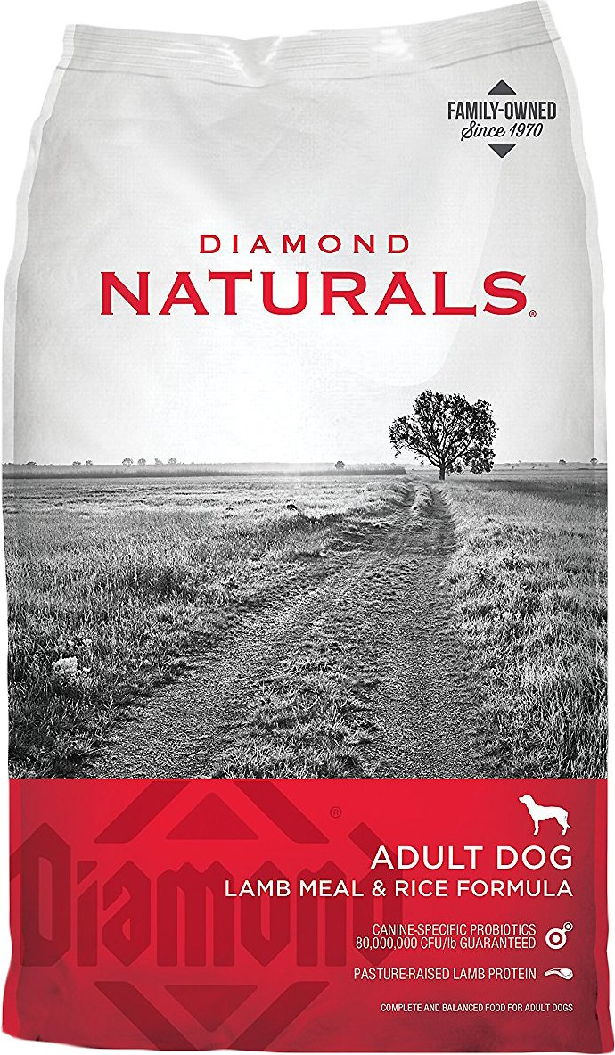 Diamond Naturals Lamb Meal & Rice Formula Adult Dry Dog Food Image
