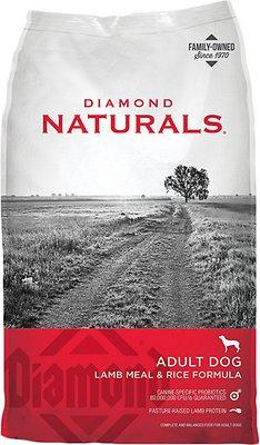 Diamond Naturals Lamb Meal & Rice Formula Adult Dry Dog Food, 20-lb bag