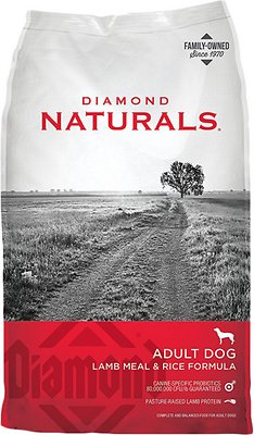 Diamond Naturals Lamb Meal & Rice Formula Adult Dry Dog Food, 6-lb bag
