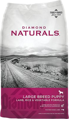 Diamond Naturals Large Breed Puppy Formula Dry Dog Food, 20-lb bag