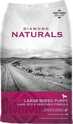 Diamond Naturals Large Breed Puppy Formula Dry Dog Food, 40-lb bag