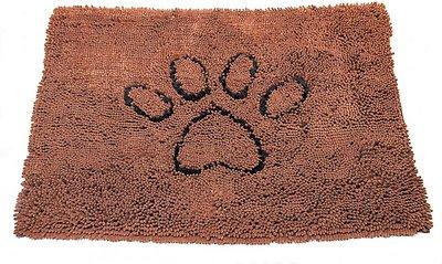 Dog Gone Smart Dirty Dog Doormat, Brown, Large