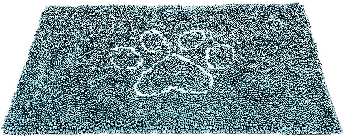 Dog Gone Smart Dirty Dog Doormat, Pacific Blue Image