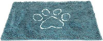 Dog Gone Smart Dirty Dog Doormat, Pacific Blue, Large