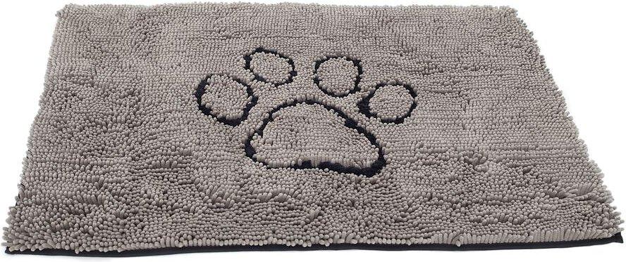 Dog Gone Smart Dirty Dog Doormat, Grey Image