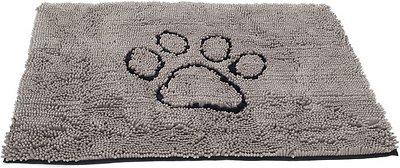 Dog Gone Smart Dirty Dog Doormat, Grey, Medium