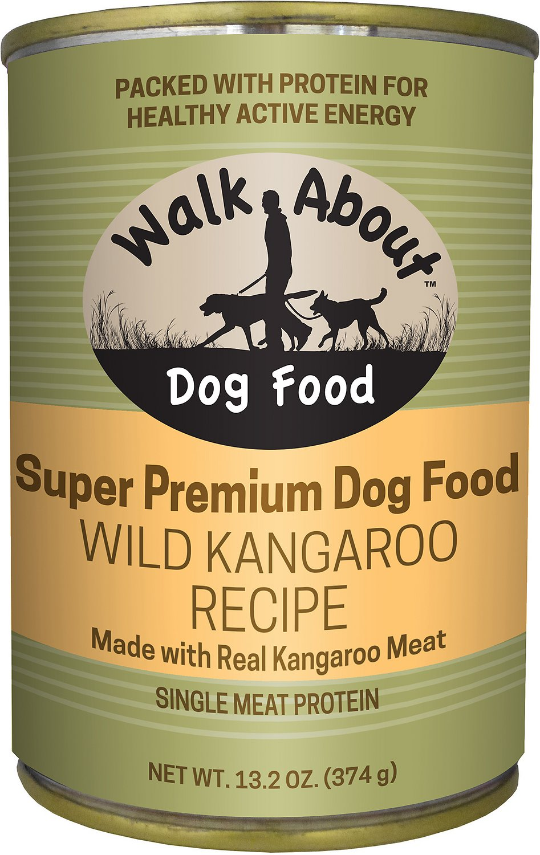 Walk About Grain-Free Wild Kangaroo Recipe, Sweet Potato & Green Beans Dog Food, 13.2-oz