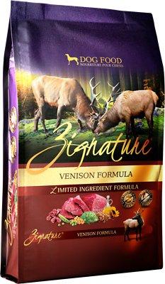 Zignature Venison Limited Ingredient Formula Grain-Free Dry Dog Food, 25-lb bag