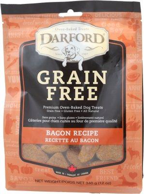 Darford Tasty Bacon Flavor Grain-Free Dog Treats, 12-oz bag