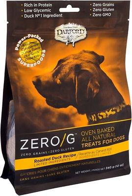 Darford Zero/G Roasted Duck Dog Treats, 12-oz bag