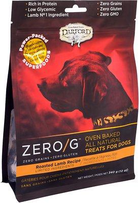 Darford Zero/G Roasted Lamb Dog Treats, 12-oz bag
