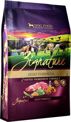 Zignature Goat Limited Ingredient Formula Grain-Free Dry Dog Food, 12.5-lb bag