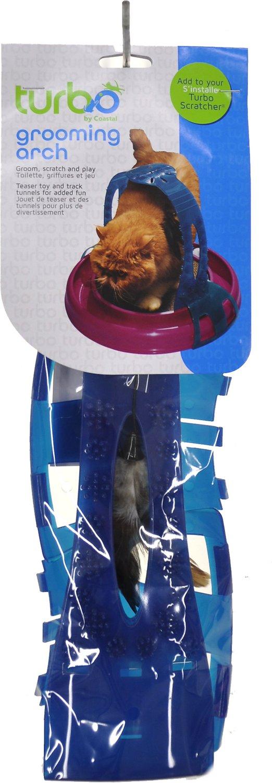 Bergan Scratcher Cat Grooming Arch Image