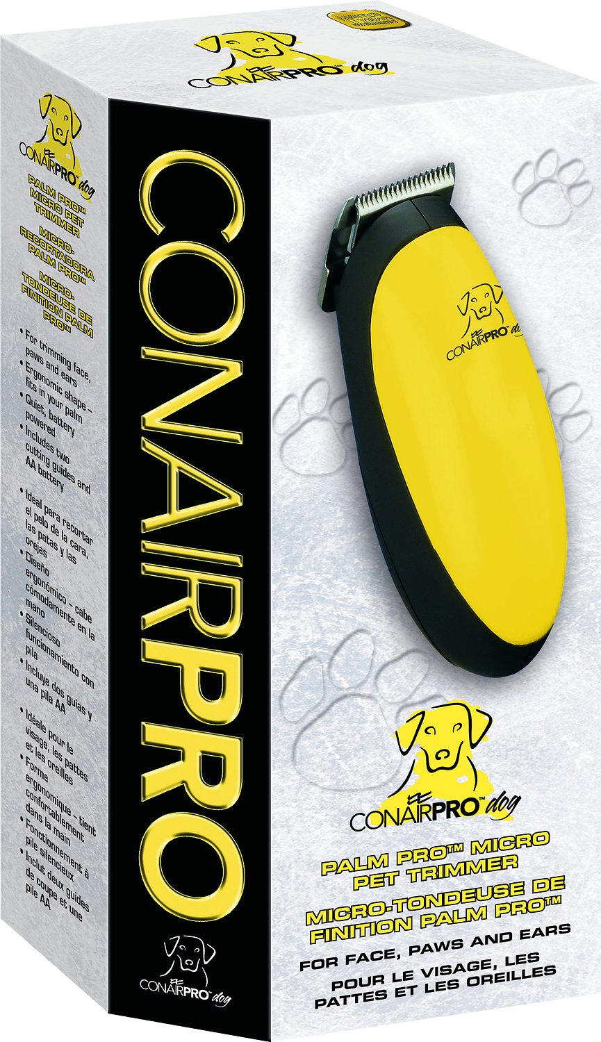 ConairPRO Dog Palm Pro Micro-Trimmer