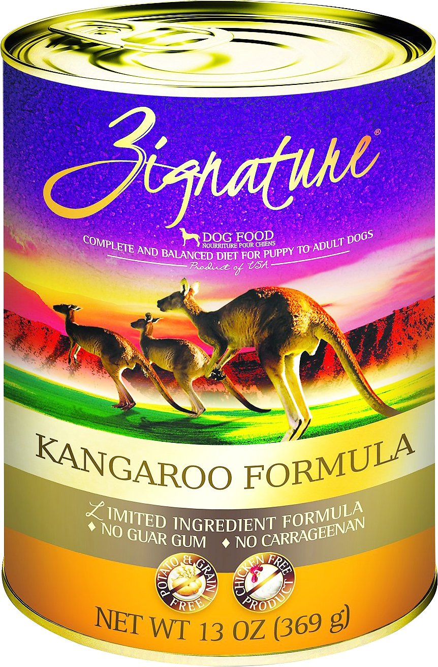 Zignature Kangaroo Limited Ingredient Formula Grain-Free Canned Dog Food Image