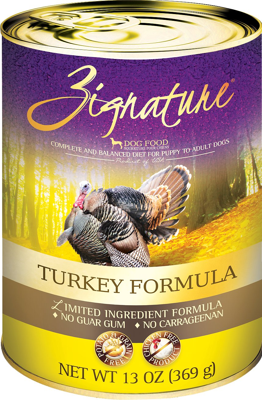 Zignature Turkey Limited Ingredient Formula Grain-Free Canned Dog Food Image