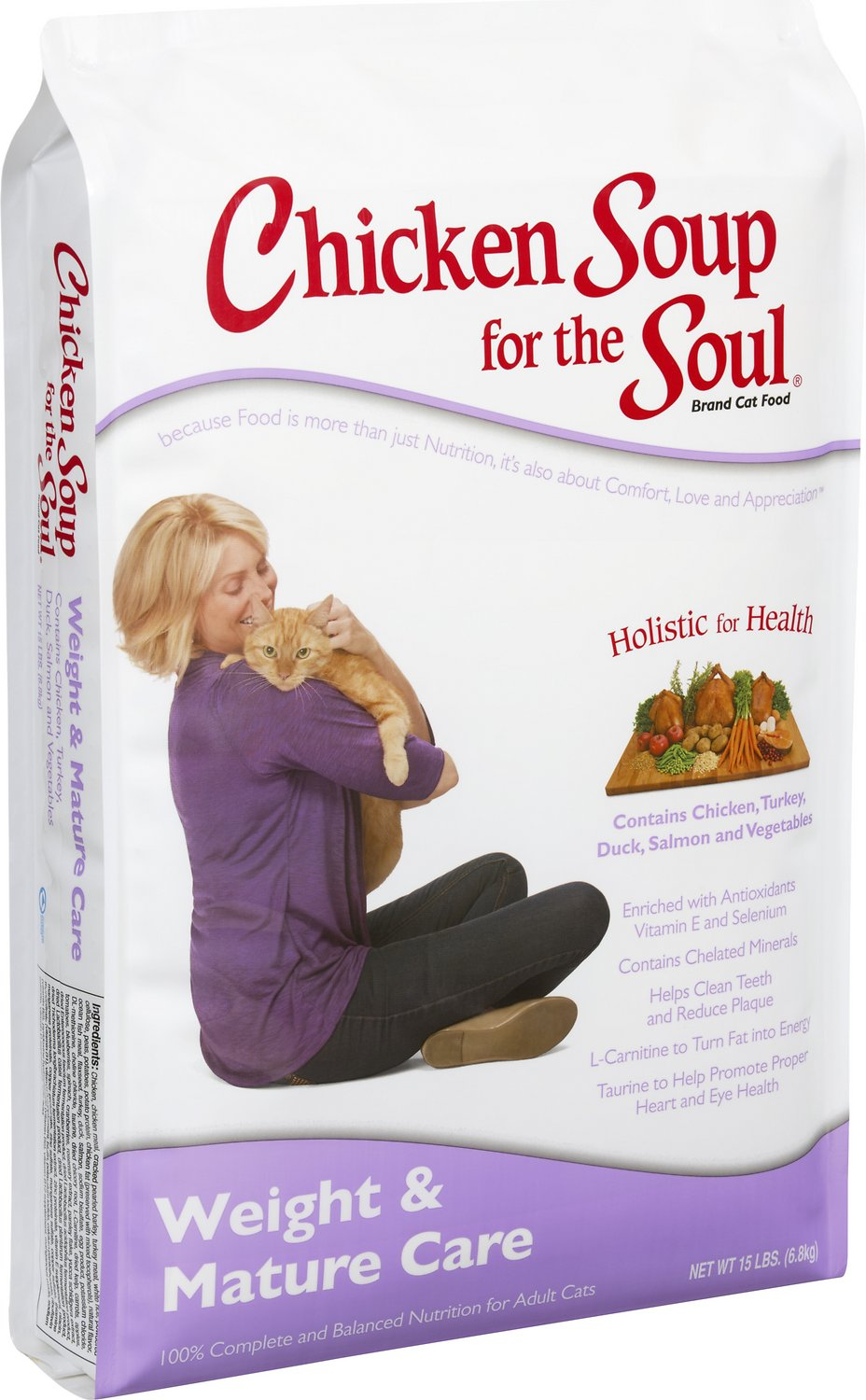 Chicken Soup for the Soul Weight & Mature Care Dry Cat Food Image