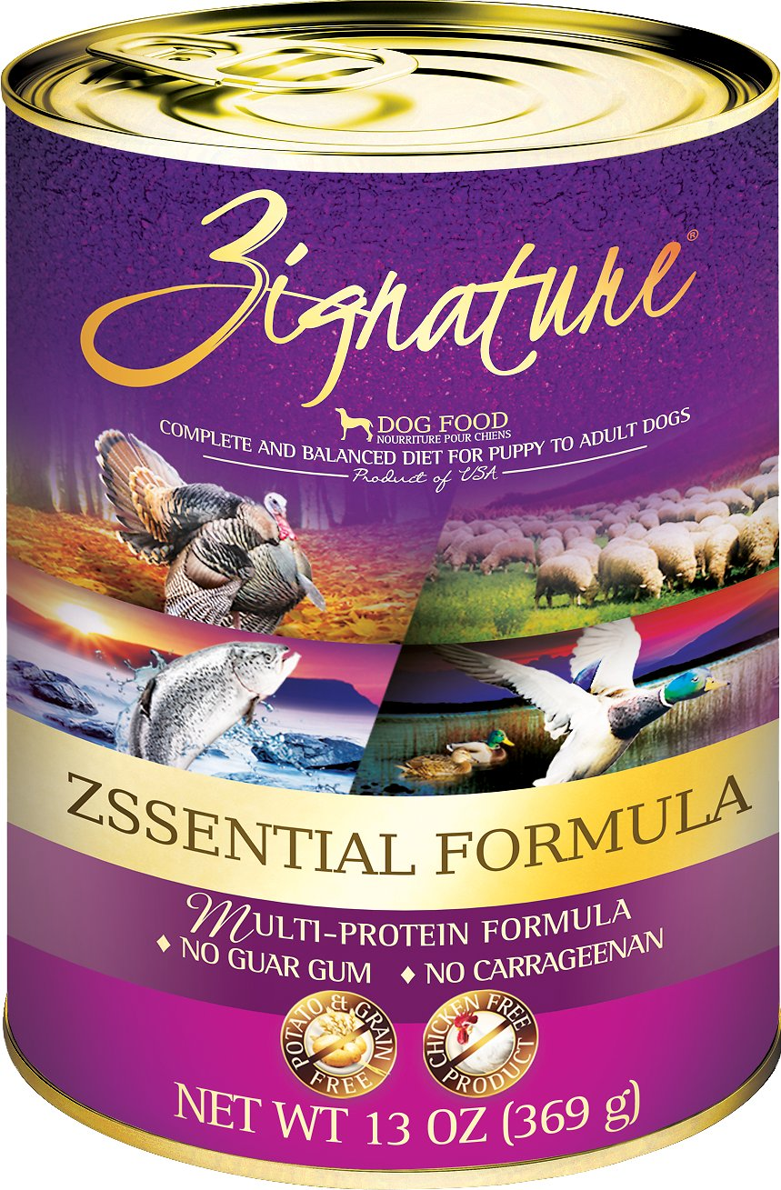 Zignature Zssential Multi-Protein Formula Grain-Free Canned Dog Food Image