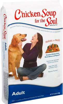 Chicken Soup for the Soul Adult Dry Dog Food, 30-lb bag