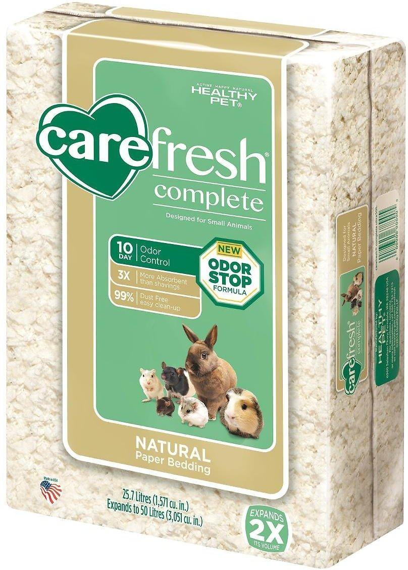 CareFresh Complete Small Animal Paper Bedding, White Image