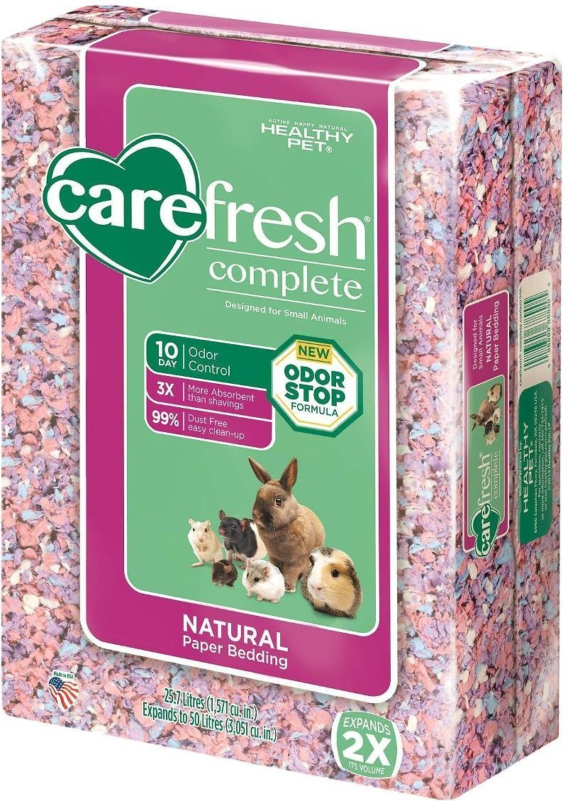 CareFresh Complete Small Animal Paper Bedding, Confetti Image