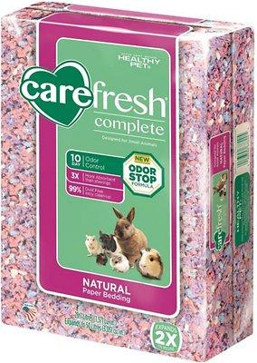 CareFresh Complete Small Animal Paper Bedding, Confetti, 50-L
