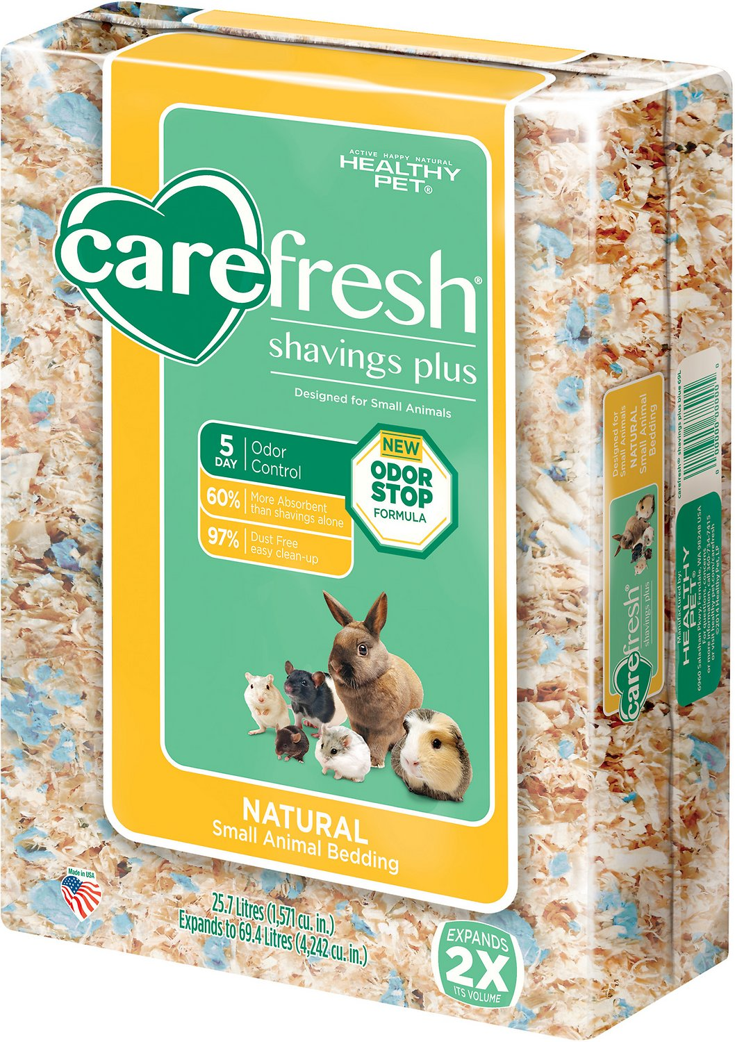 CareFresh Shavings Plus Small Animal Bedding, 69.4-L Image