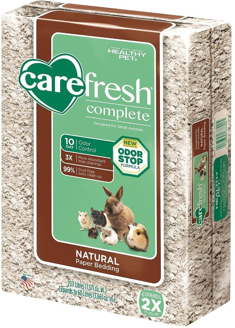 CareFresh Complete Small Animal Paper Bedding, Natural Image