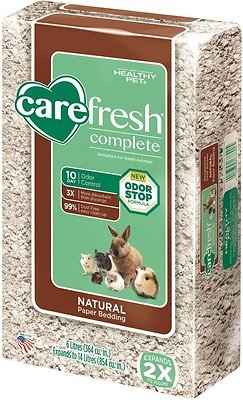 CareFresh Complete Small Animal Paper Bedding, Natural, 14-L