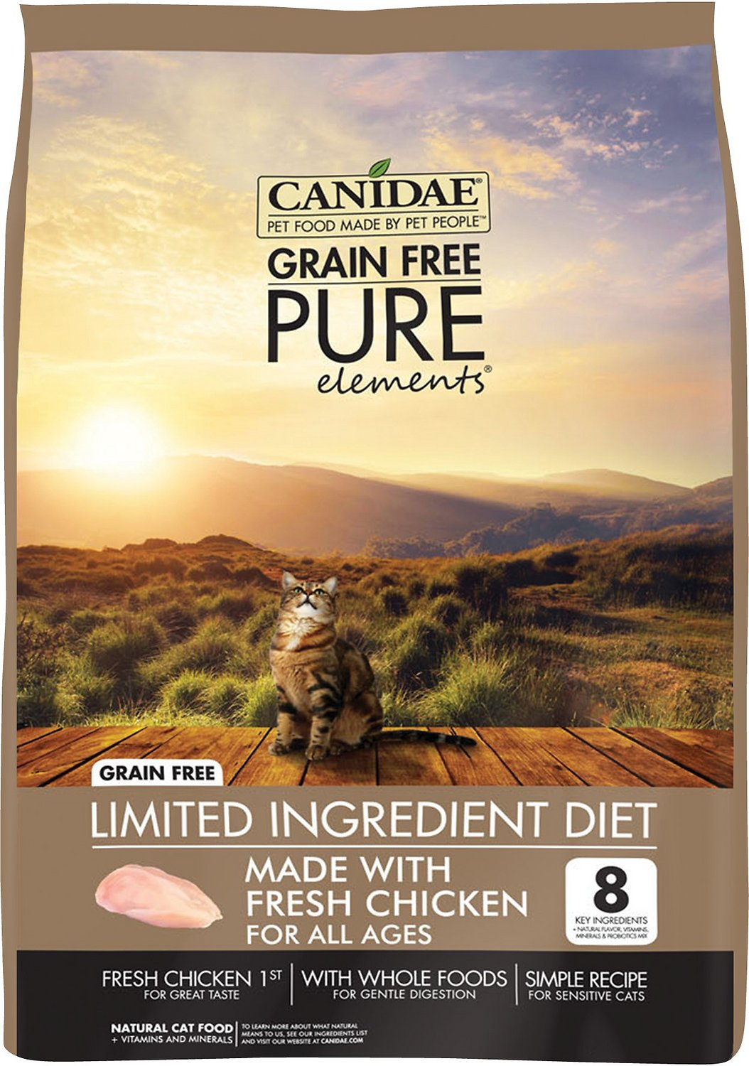 Canidae Grain-Free PURE Elements with Chicken Limited Ingredient Diet Dry Cat Food Image