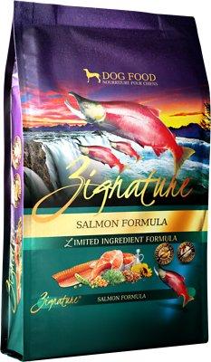 Zignature Salmon Limited Ingredient Formula Grain-Free Dry Dog Food, 12.5-lb bag