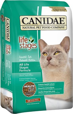 Canidae Life Stages All Life Stages Formula Dry Cat Food, 15-lb
