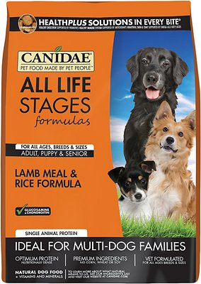 Canidae All Life Stages Lamb Meal & Rice Formula Dry Dog Food, 5-lb