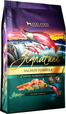 Zignature Salmon Limited Ingredient Formula Grain-Free Dry Dog Food, 4-lb bag