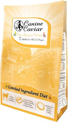 Canine Caviar Limited Ingredient Diet Open Meadow Holistic Entrée All Life Stages Dry Dog Food, 4.4-lb